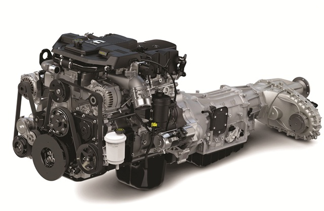 A diesel engine (above) will tend to net a higher resale value than a gasoline engine. Photo credit: Chrysler