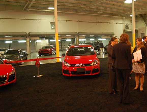 A ribbon cutting ceremony was held in November to mark the opening of the California Service Center.