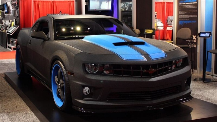 rare line x camaro being auctioned for charity news vehicle remarketing. Black Bedroom Furniture Sets. Home Design Ideas