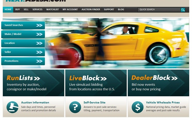 On next.ADESA.com, LiveBlock inventory with condition reports will be added in a staged approach, one auction at a time, during the next few months.