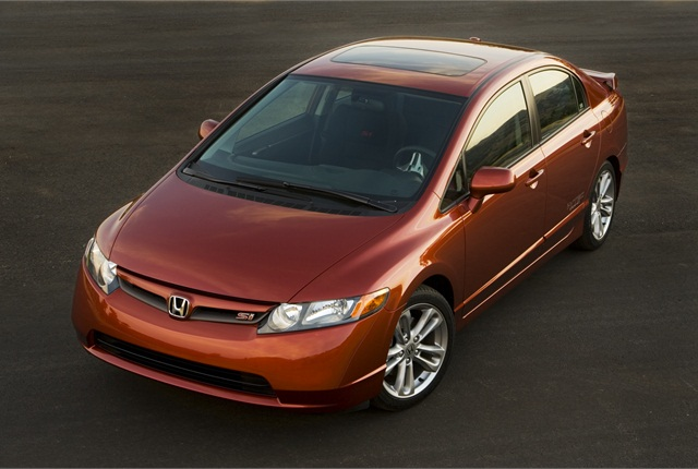 """The 2007-MY Honda Civic (pictured) topped the 2014 """"Top 10 Best Used Cars Under $8,000"""" by Kelley Blue Book. (PHOTO: HONDA)"""
