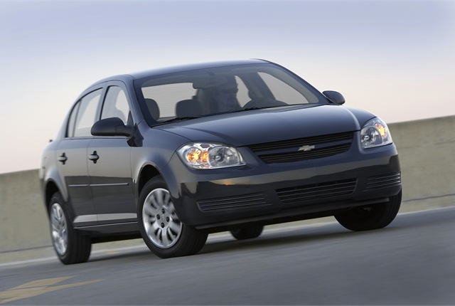 2010 Chevrolet Cobalt pictured. (PHOTO: GM)