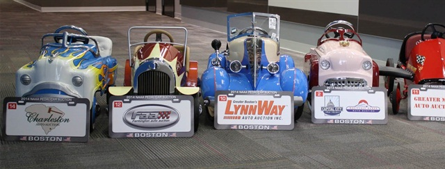 NextGear Capital also made a significant contribution during the event's Pedal Car charity auction, purchasing seven pedal cars to display around its corporate office. (PHOTO: NextGear Capital)