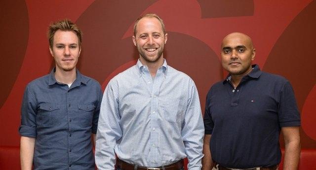 CarCodeSMS co-founders in order: Steve Schwartz, Nick Gorton and Prabode Weebadde (PHOTO: Scott Jacobs for Edmunds)