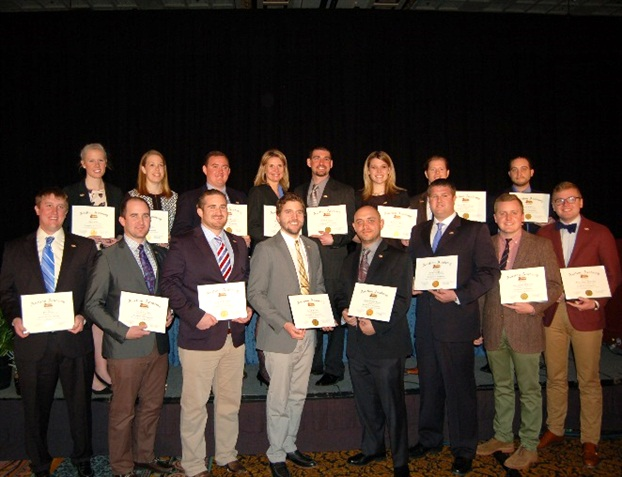 The Auction Academy's inaugural class group--next generation leaders--at the graduation ceremony held at CAR in March 2014.