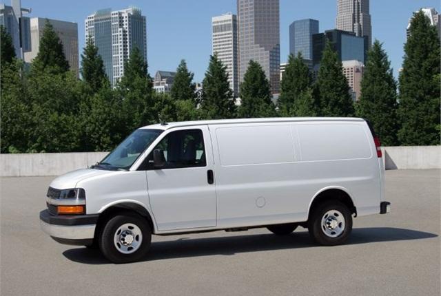 Photo of 2013 Chevrolet Express 2500 cargo van courtesy of General Motors.