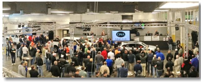 Built as a greenfield site in Auburn, Wash., approximately 25 miles south of Seattle's city center, DAA Seattle held its Grand Opening sale on Tuesday, June 25, running six full lanes of dealer-consigned inventory