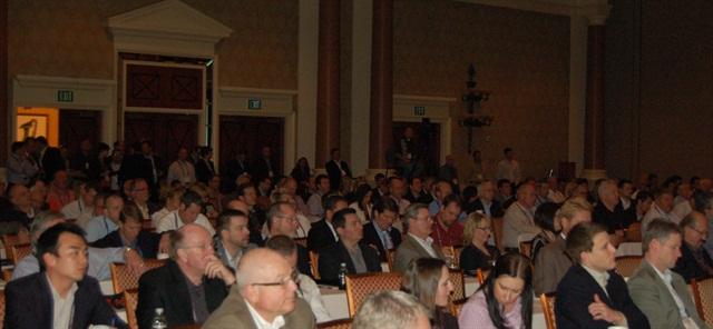 Attendees at last week's CAR meeting listen to one of three keynote addresses.