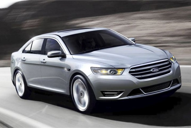 Photo of 2014 Taurus courtesy of Ford.
