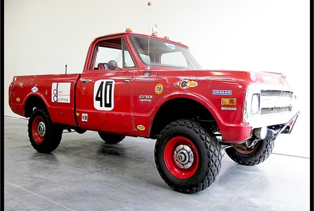 Steve McQueen's Baja 1000 pickup truck, going to auction in late July 2013.