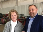 <p><em>Photo of Sally Saldamarco, office manager, (left) and Tony Saldamarco, sales manager courtesy of CAA.</em></p>